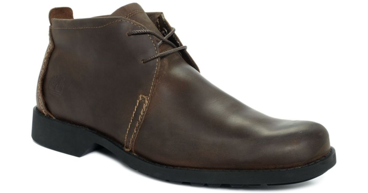 06e5f640bbb Lyst - Timberland Earthkeepers City Lite Chukka Boots in Brown for Men