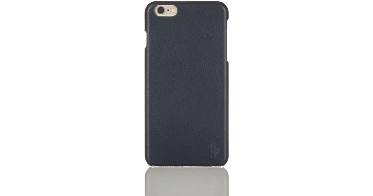 premium selection ab089 460e8 Polo Ralph Lauren Black Iphone 6 Plus Case for men