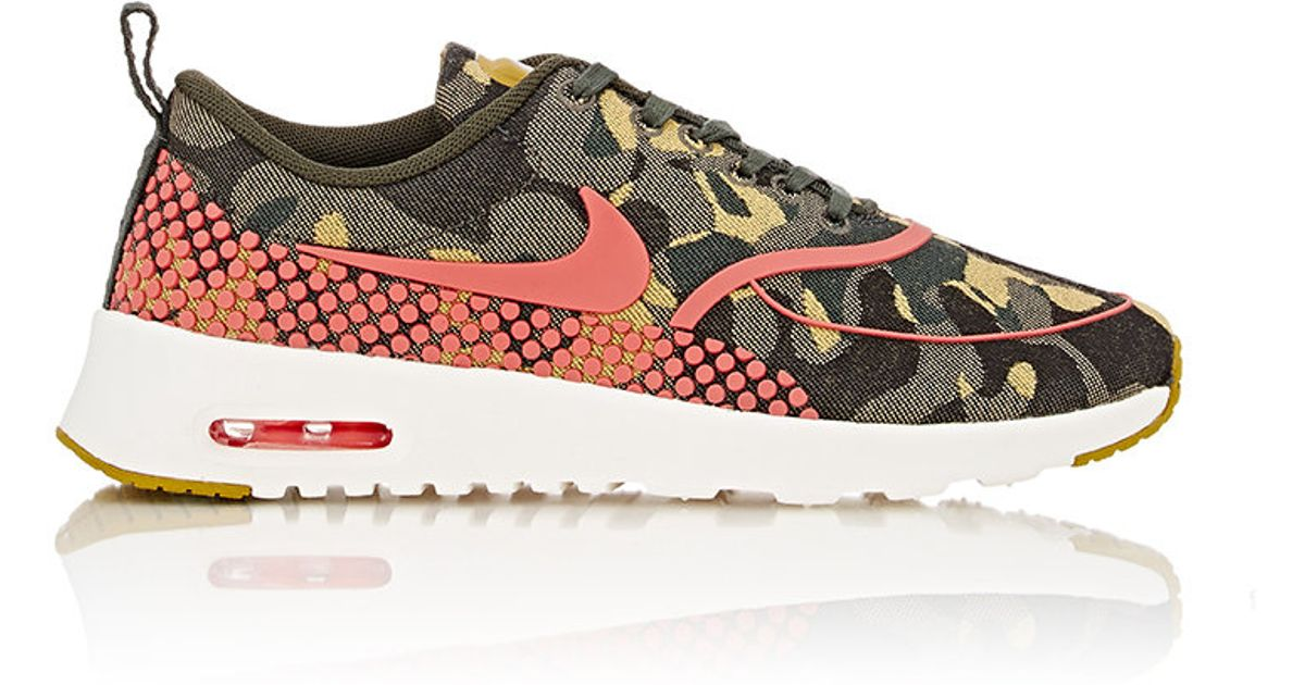 the latest 3ee21 36d10 Nike Women s Air Max Thea Jacquard Premium Sneakers - Lyst