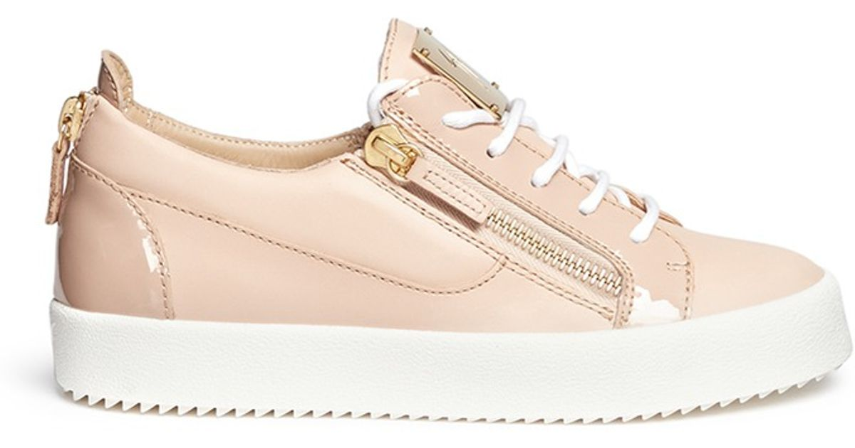 London Leather Low-Top Sneakers
