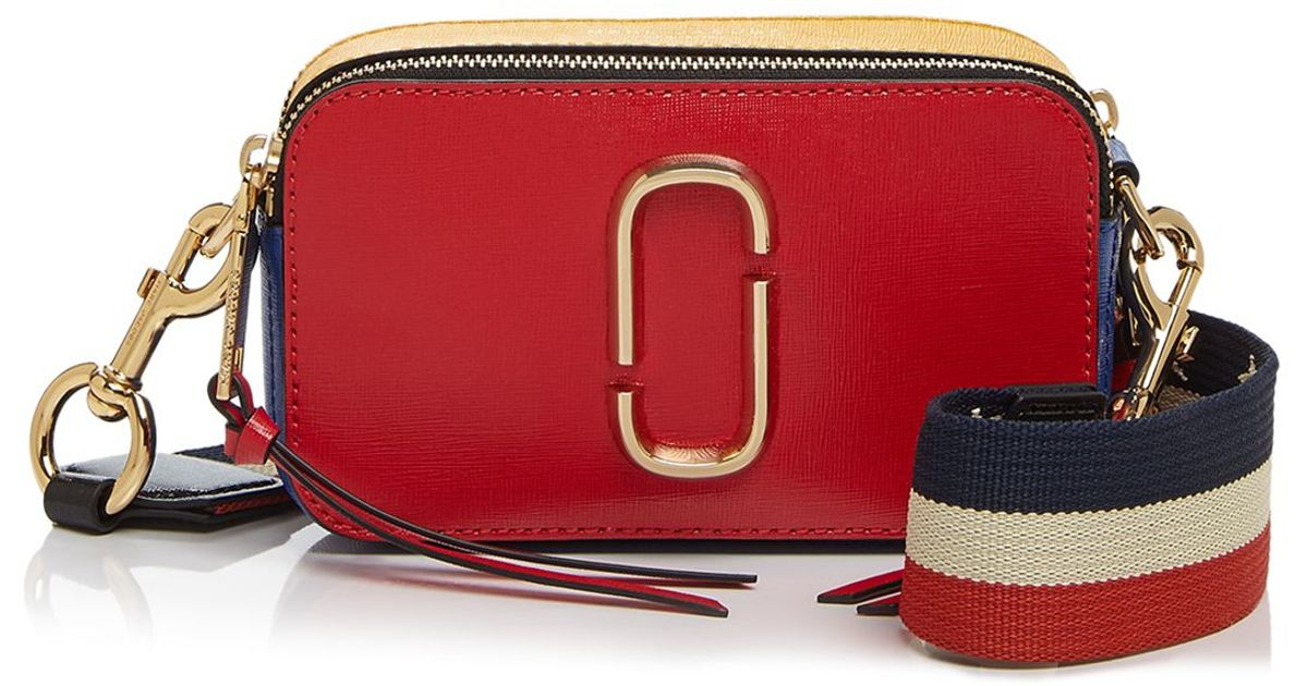 Marc Jacobs Red Snapshot Color Block Crossbody Lyst