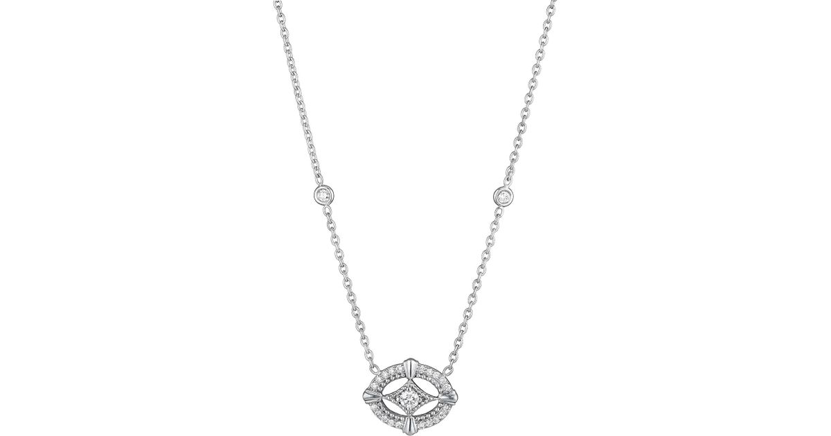 Penny Preville Firebolt 18k Diamond Pendant Necklace
