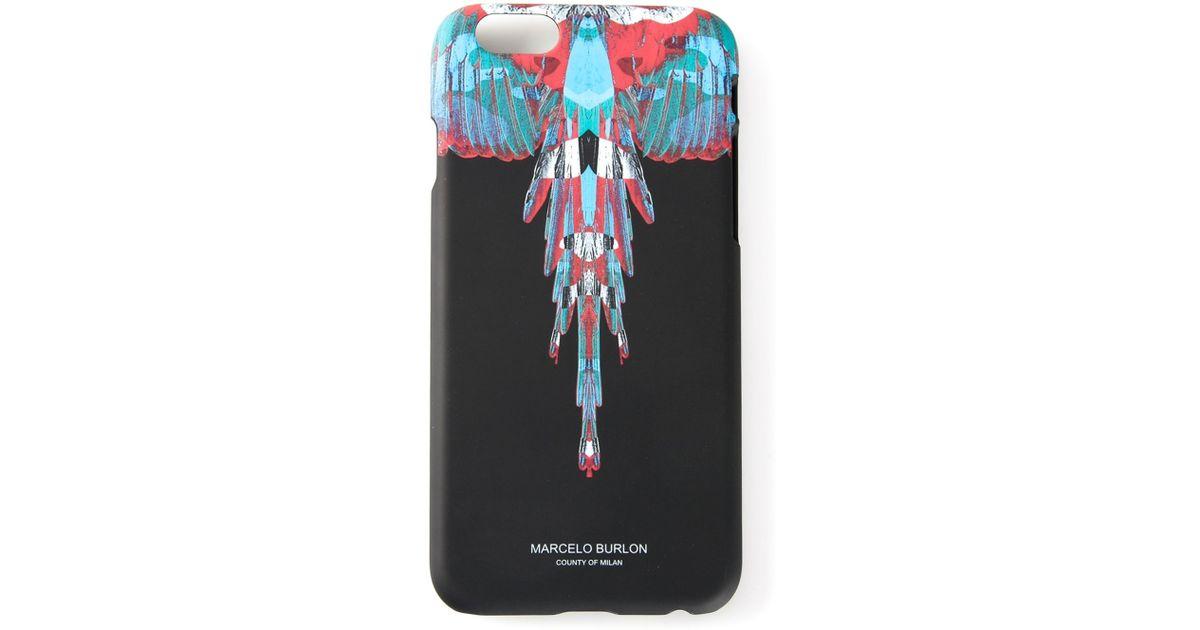 Découvrez en ligne dans quelques jours Marcelo Burlon Black Feather Iphone 6 Case
