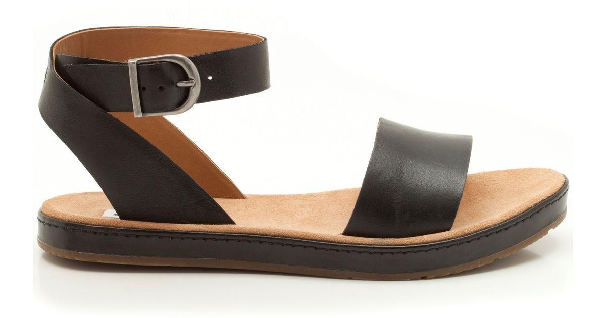 Clarks Sandals Leather Romantic Moon Black wPk08nO