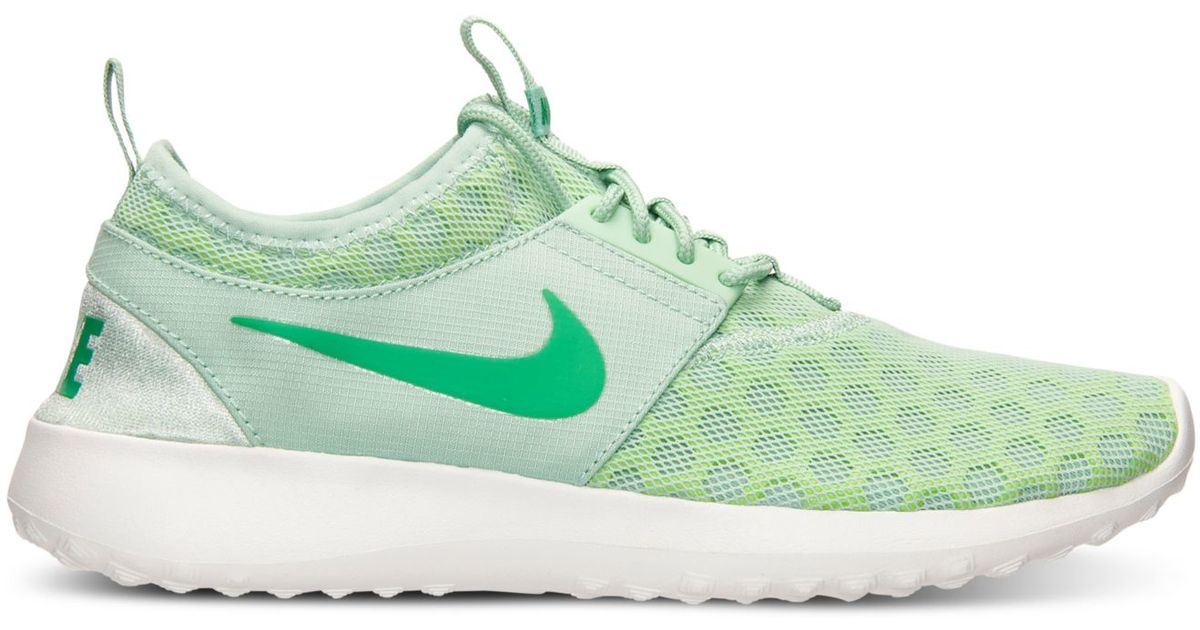 new concept 15e37 685bd Lyst - Nike Women s Juvenate Casual Sneakers From Finish Line in Green