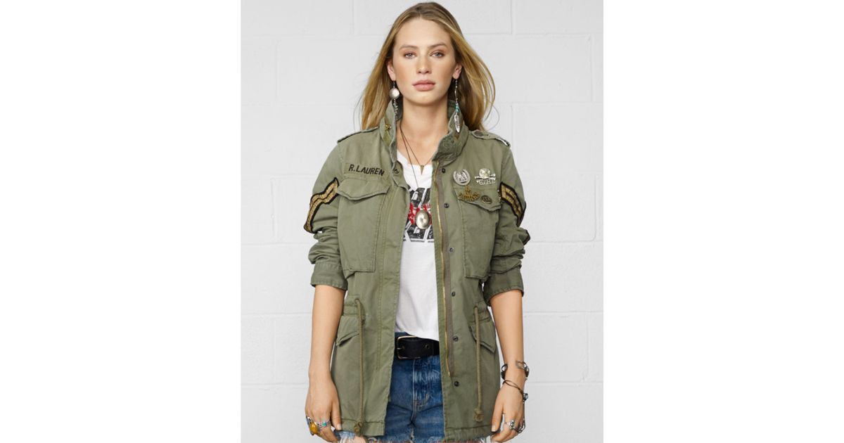 Denim Amp Supply Ralph Lauren Military Anorak Field Jacket