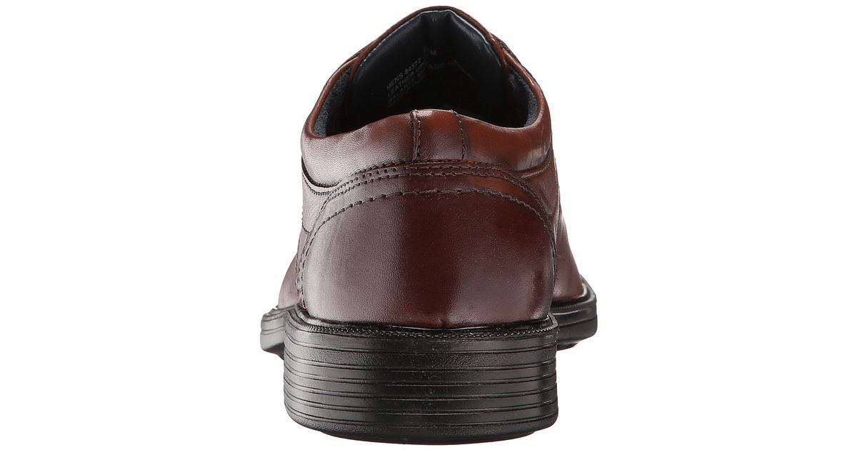 d422b870b4a Lyst - Nunn Bush Carlin Moc Toe Oxford (brown) Men s Lace Up Casual Shoes  in Brown for Men - Save 19%