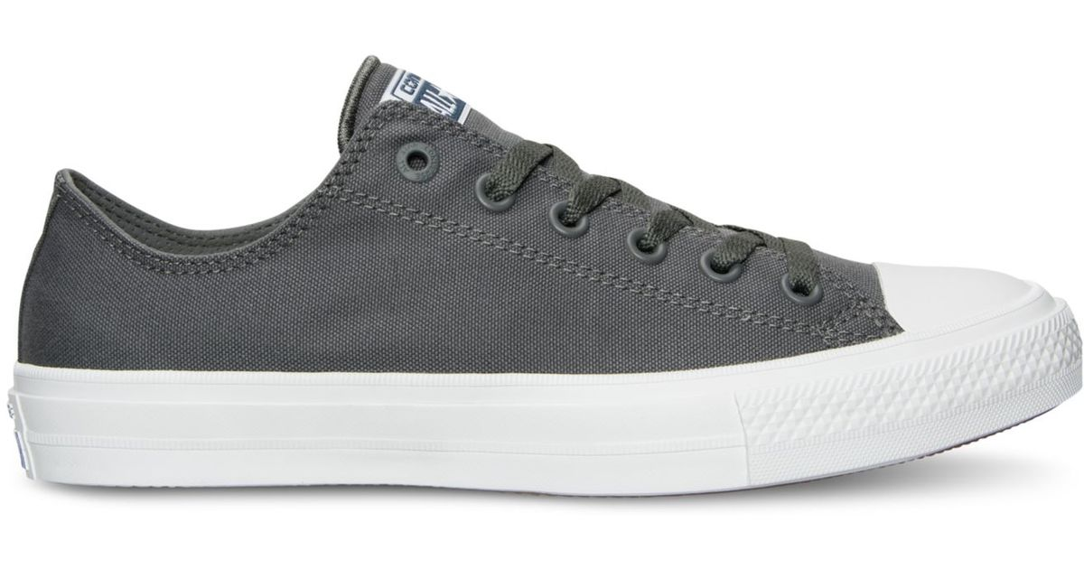Lyst - Converse Men's Chuck Taylor All Star Ii Ox Casual Sneakers From  Finish Line in White for Men