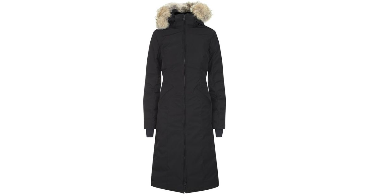 36500dcb9a4c Canada Goose Elrose Parka in Black - Lyst