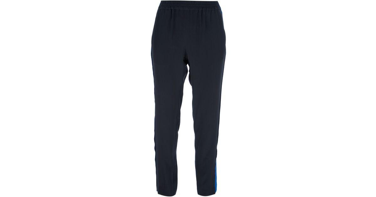 Pantalones contraste rayas Marc a Jacobs chándal de de negro rUHwxSrq