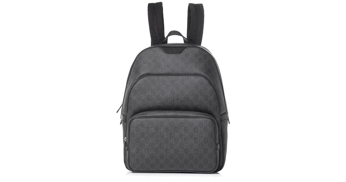 f1551ffc9b3 Lyst - Gucci Gg Supreme Backpack in Gray for Men