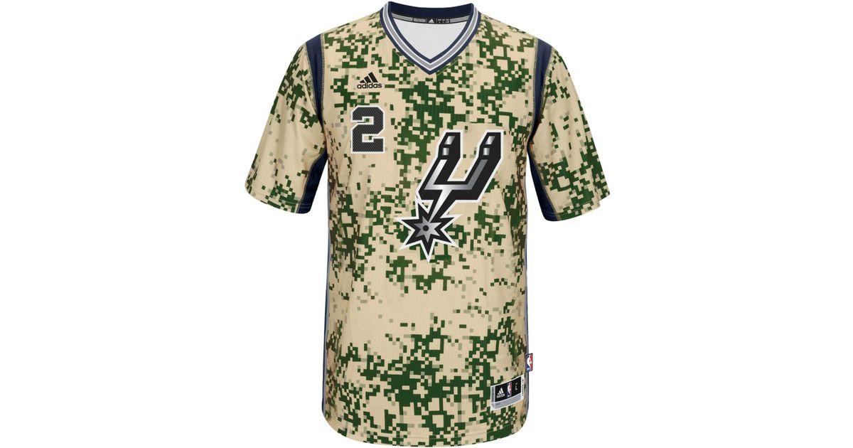 online store 8327f 4882b Adidas Originals Green Men's Short-sleeve Kawhi Leonard San Antonio Spurs  Swingman Jersey for men