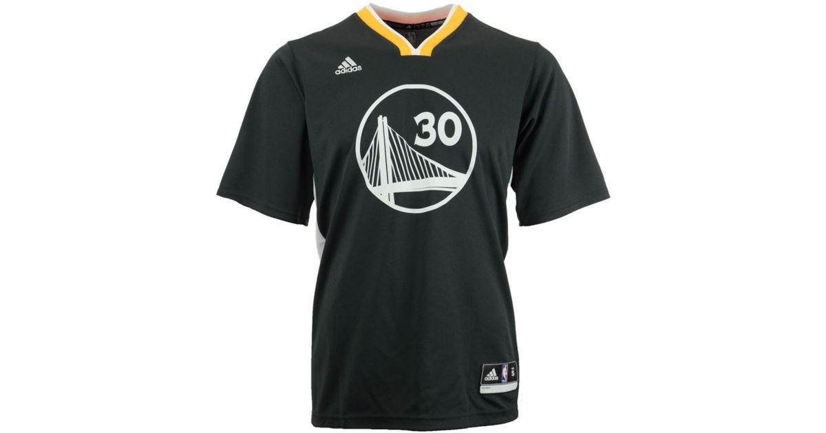 brand new 9f4d6 bdc20 Adidas Yellow Men'S Short-Sleeve Stephen Curry Golden State Warriors  Swingman Jersey