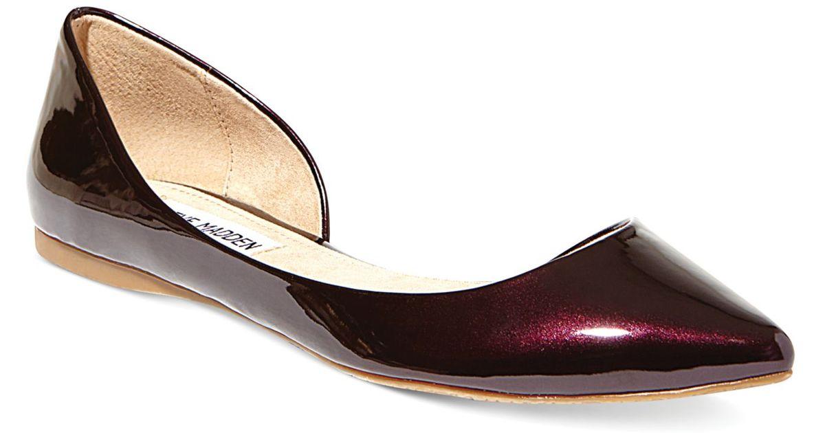 1371fd2f31a Steve Madden Purple Women'S Elusion D'Orsay Flats