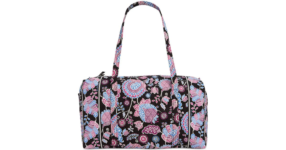 Vera Bradley Large Duffle Bag In Floral (Alpine Floral) | Lyst