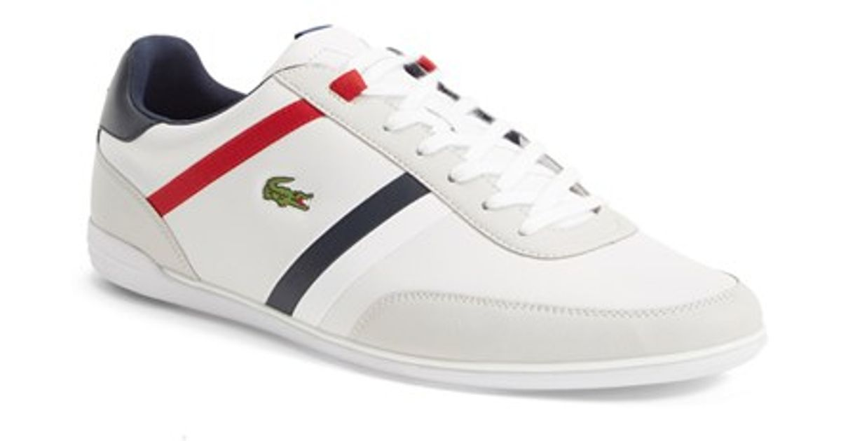 2a8fe8b1c36659 Lyst In For Men  giron Lacoste Sneaker Leather Tcl  White SrSpwqz
