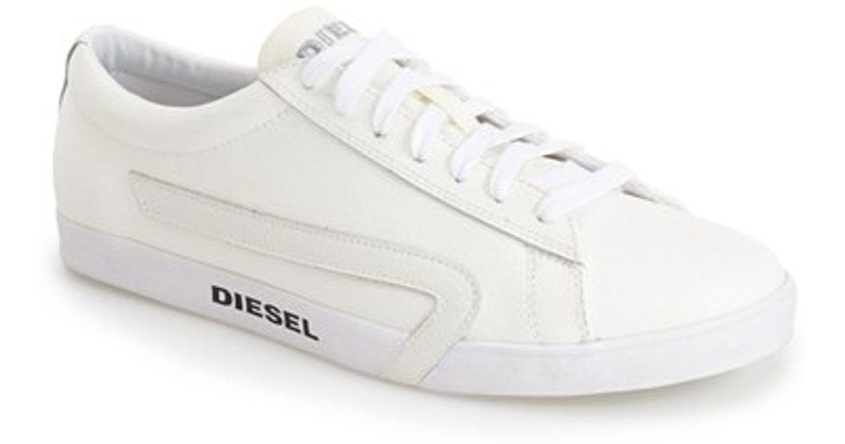 diesel rikklub bikkren sneaker in white for men lyst