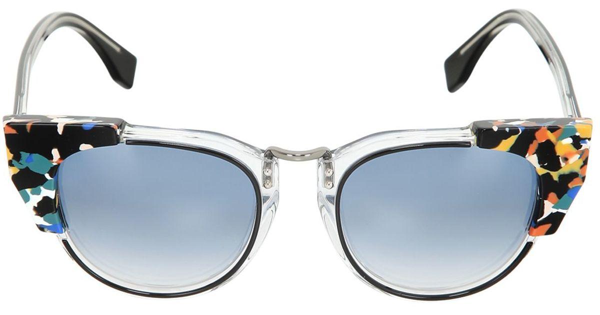 07d04b87fd Cat eye embellished sunglasses Fendi embellished Cat Fendi eye Cat ...