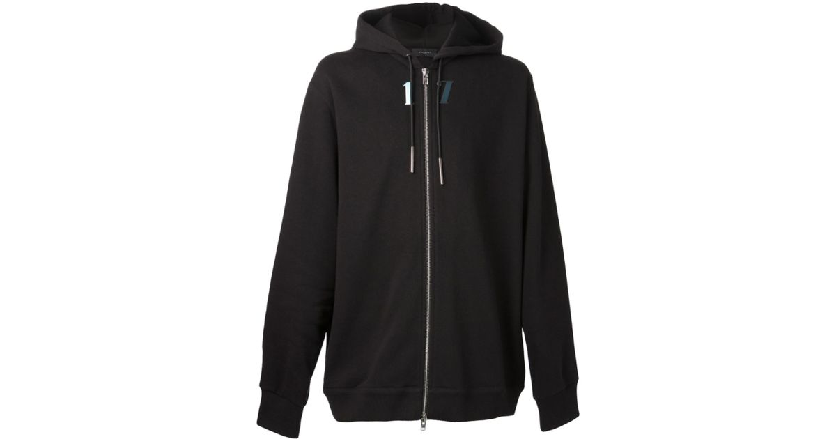 Lyst - Givenchy Zip Up Hoodie in Black for Men 6cb33058886