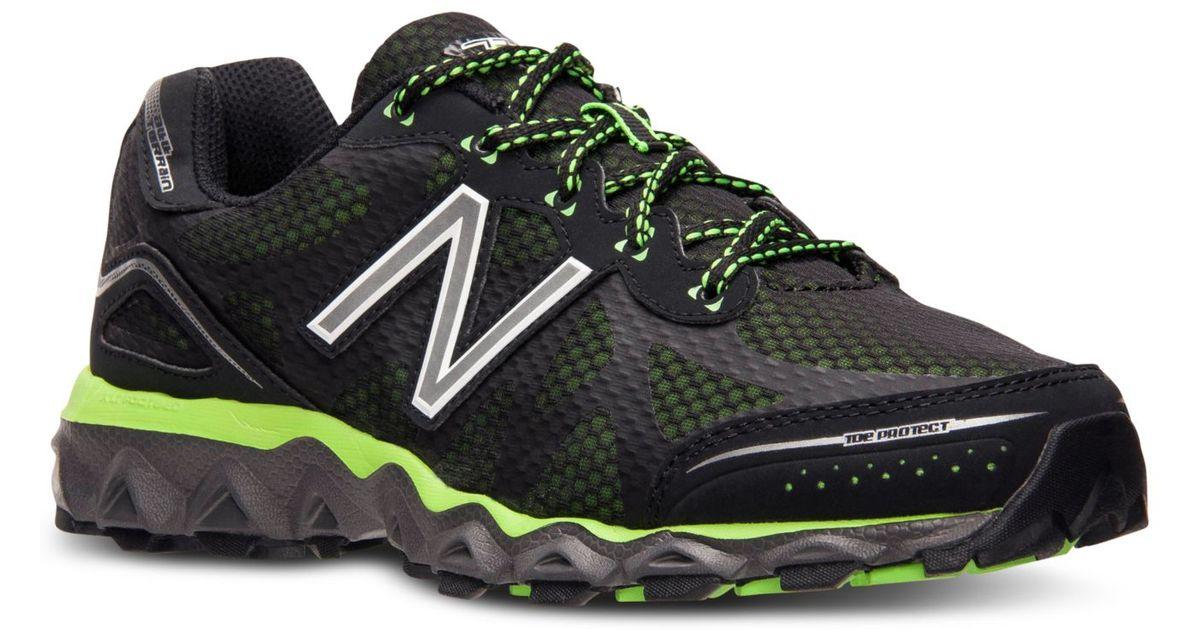 najwyższa jakość odebrać Najnowsza New Balance Black Men's 710v2 Running Sneakers From Finish Line for men
