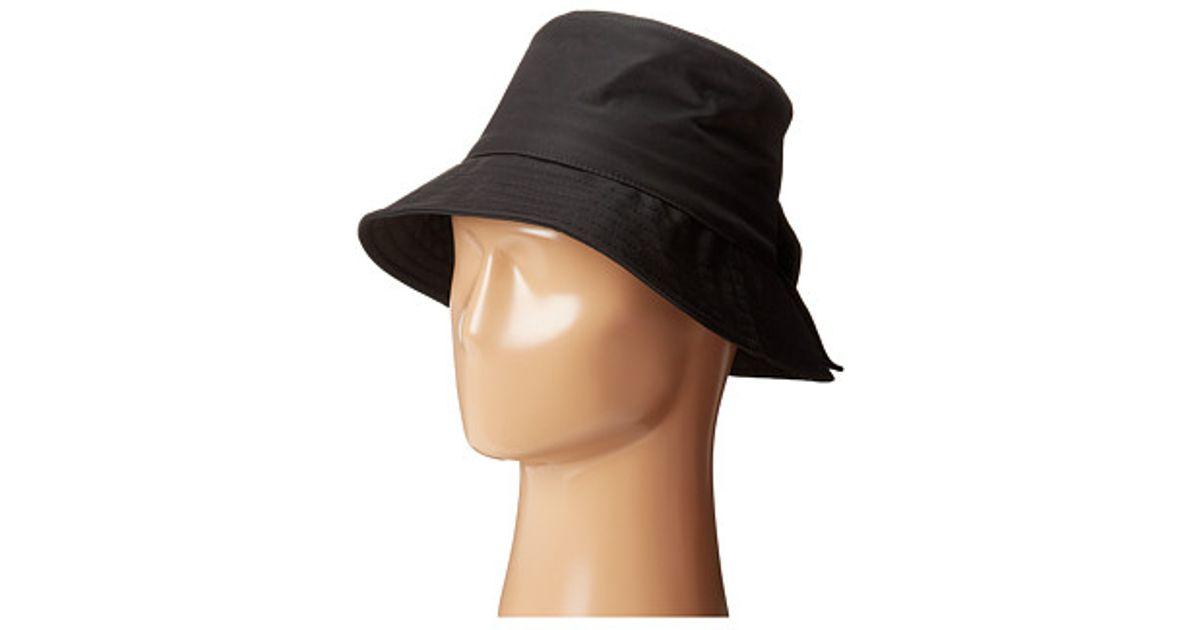 881040e55a3 Lyst - Kate Spade New York Nylon Bucket Hat in Black
