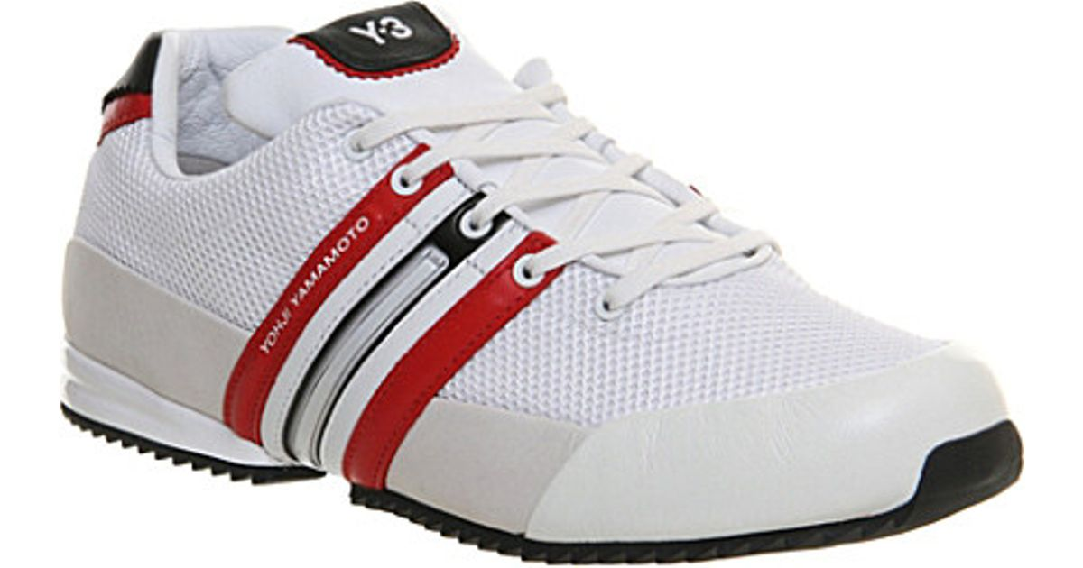 2c2231c78667c Y-3 Y3 Sprint Trainers - For Men in White for Men - Lyst