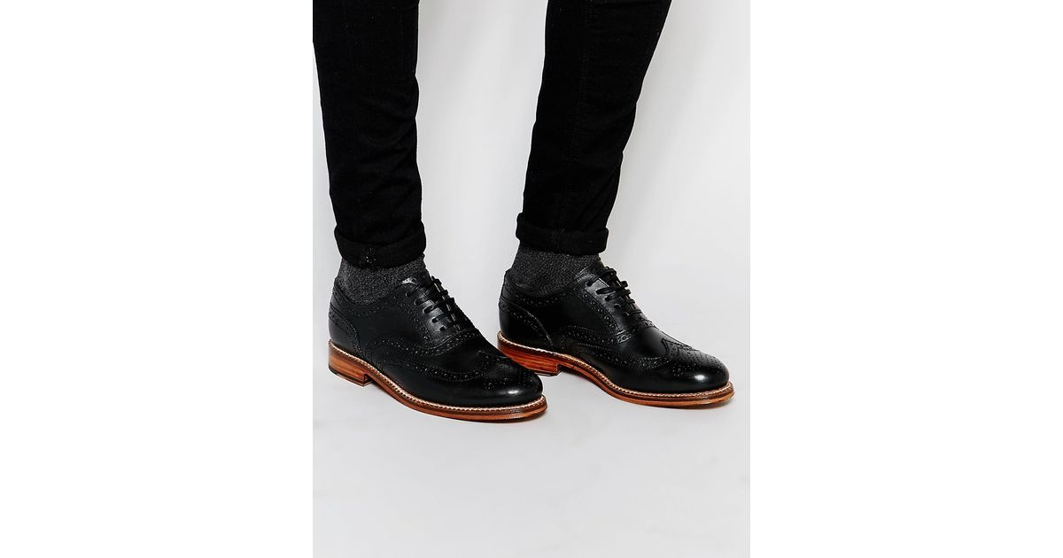 Black Lennie Derbys Grenson 4qjQFi