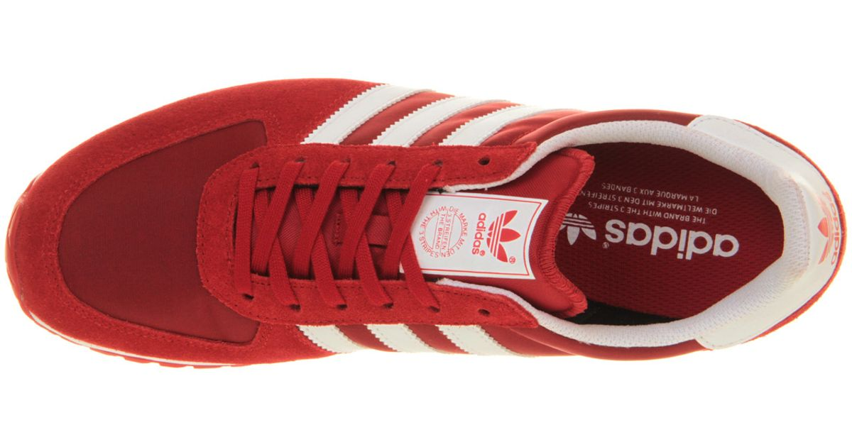release date 88800 9c1e3 Lyst - adidas Originals Adistar Racer W in Red