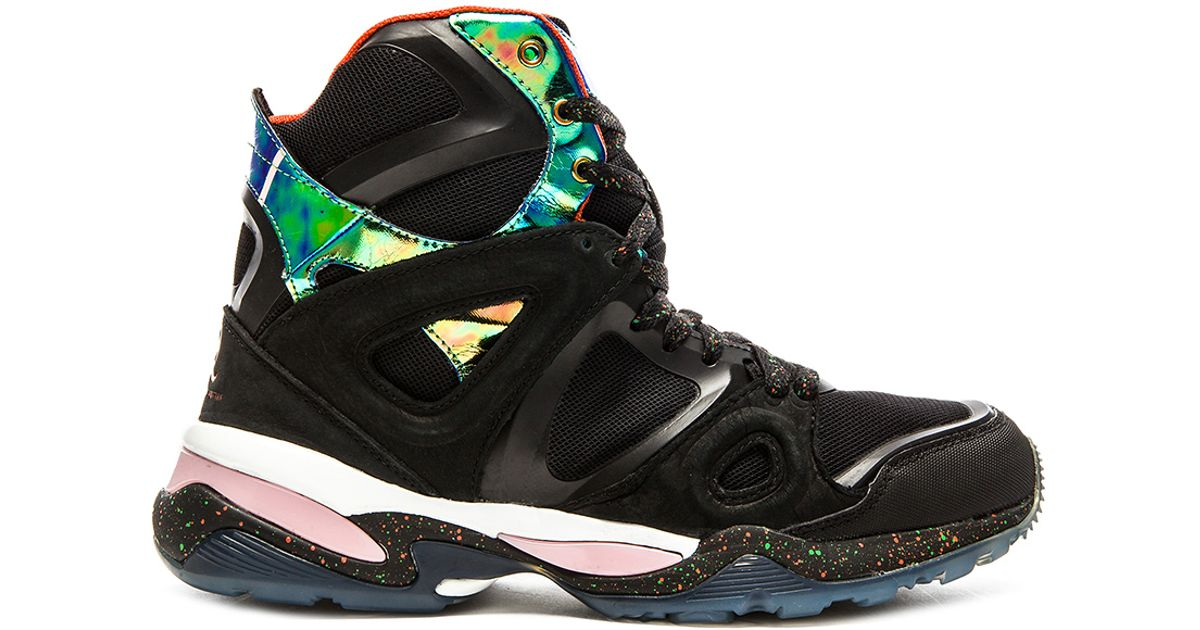 best loved a627f 9d015 Alexander McQueen X Puma Mcq Cell Bubble Runner Mid in Black for Men - Lyst