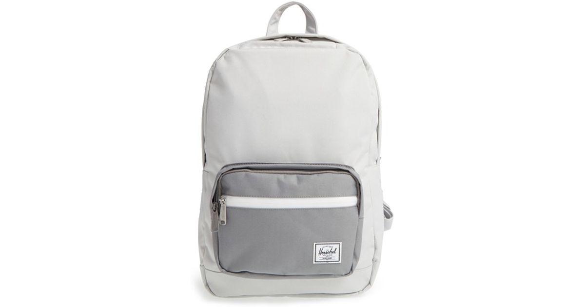 4810f1138d6 Lyst - Herschel Supply Co.  pop Quiz - Mid Volume  Backpack in Gray