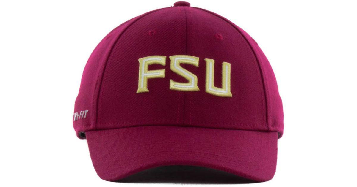 best sneakers fd2e2 8128e Nike Florida State Seminoles Ncaa Dri-Fit Swooshflex Cap in Gray for Men -  Lyst