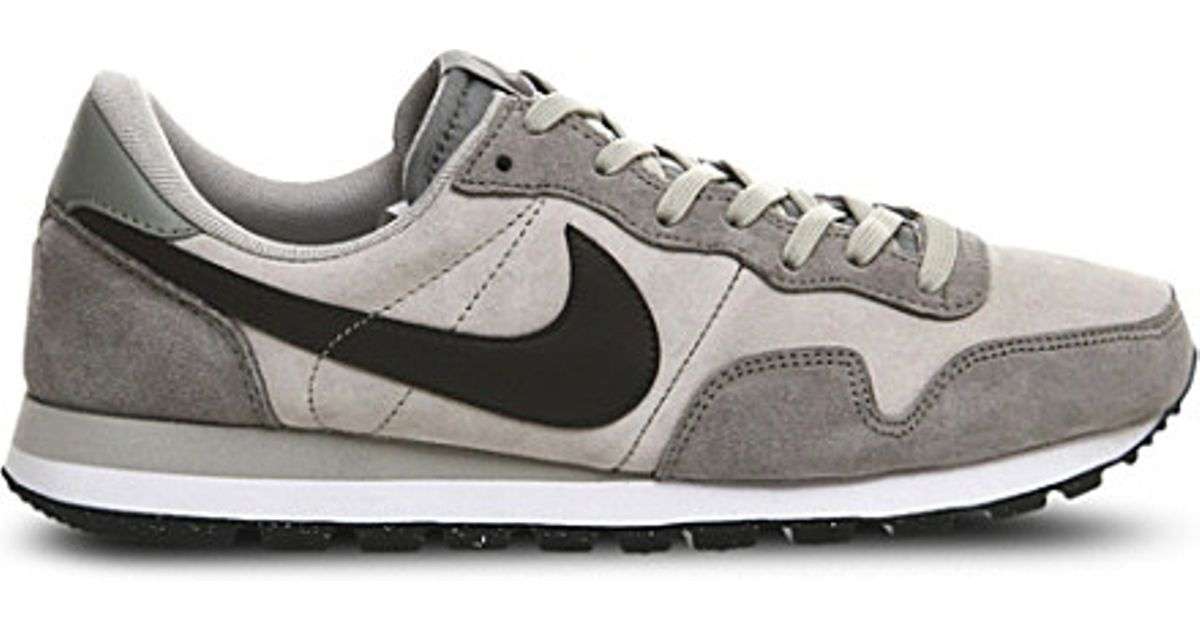 4393d9cee979d ... clearance nike panelled suede air pegasus 83 trainers in gray for men  lyst 00a3a 66ced