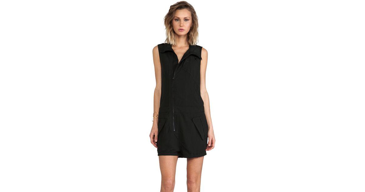 a76ba843792 Lyst - G-Star RAW Avi Short Suit Romper in Black
