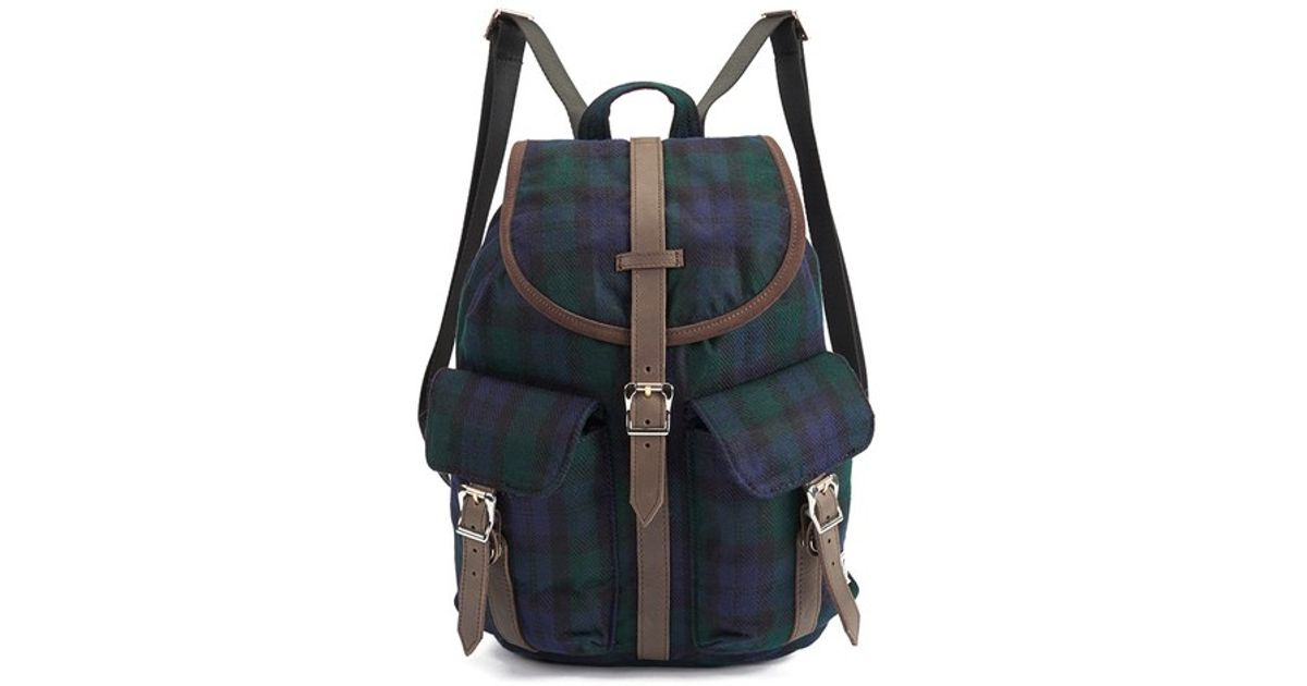 6db88ddaea7 Herschel Supply Co. Select Series Dawson Watch Plaid Backpack in Blue for  Men - Lyst