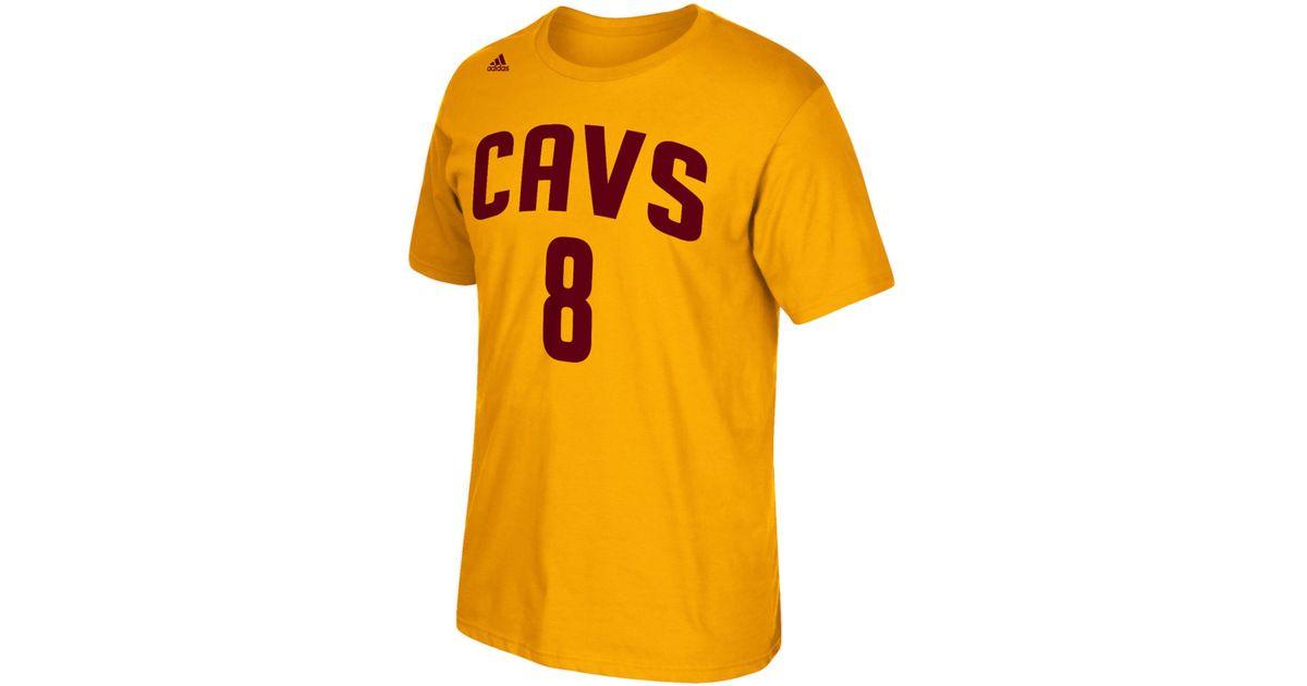 size 40 079e1 12df5 Adidas Metallic Men's Matthew Dellavedova Cleveland Cavaliers Player  T-shirt for men