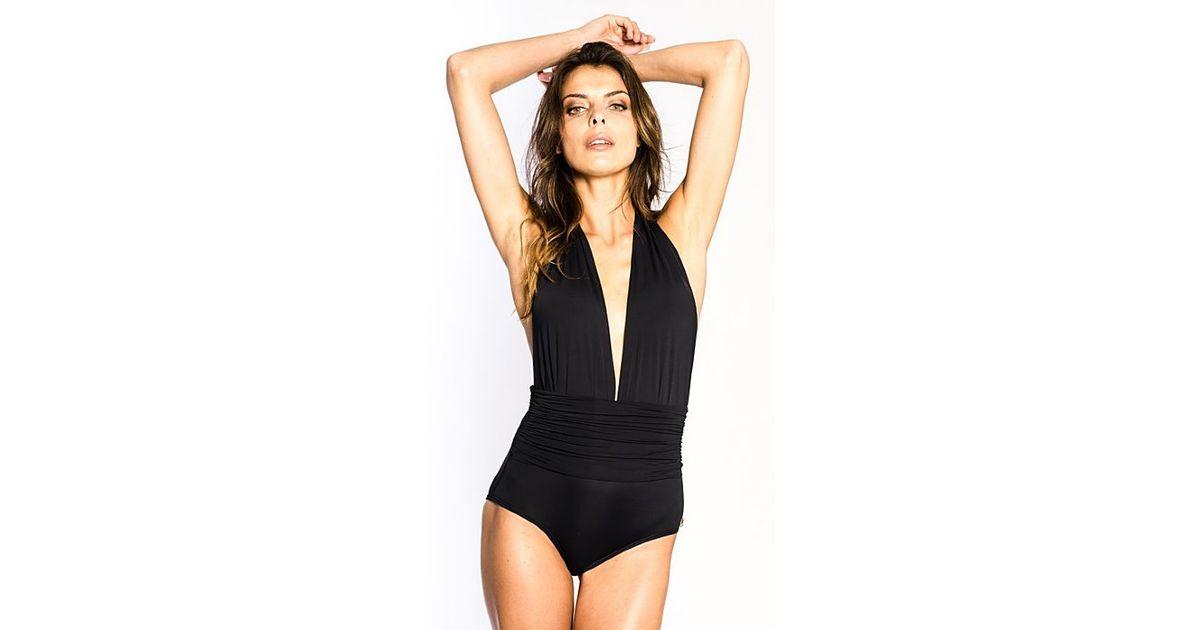 71ebbf19a9 Lyst - Sauipe Swimwear Eva One Piece in Black