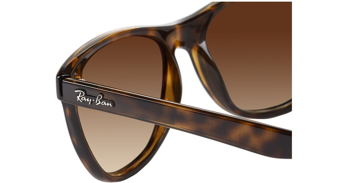 d03142ae703 Lyst - Ray-Ban Rb4184 High Street Square 54mm in Brown