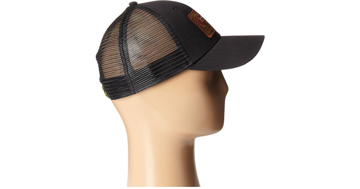 Lyst - Patagonia Live Simply Guitar Lopro Trucker Hat in Black fc3bf691583