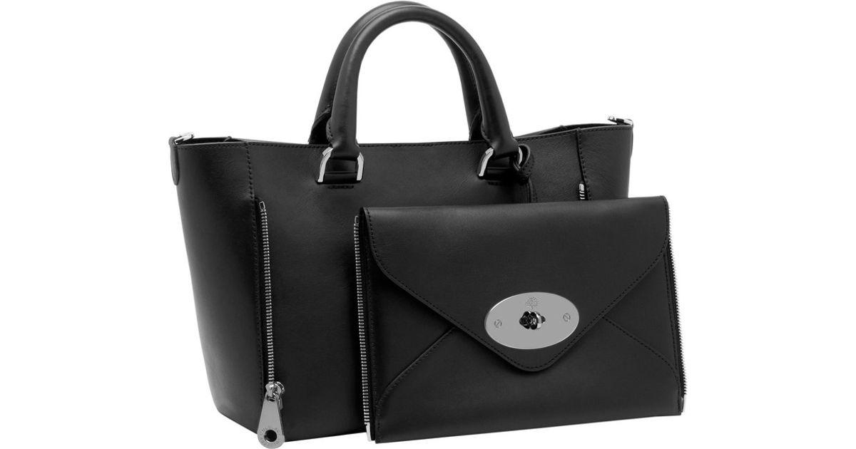 3b493809f0fd Lyst - Mulberry  willow  Handbag in Black