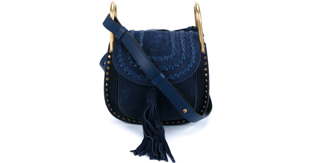 Chlo�� Mini \u0026#39;hudson\u0026#39; Crossbody Bag in Blue | Lyst