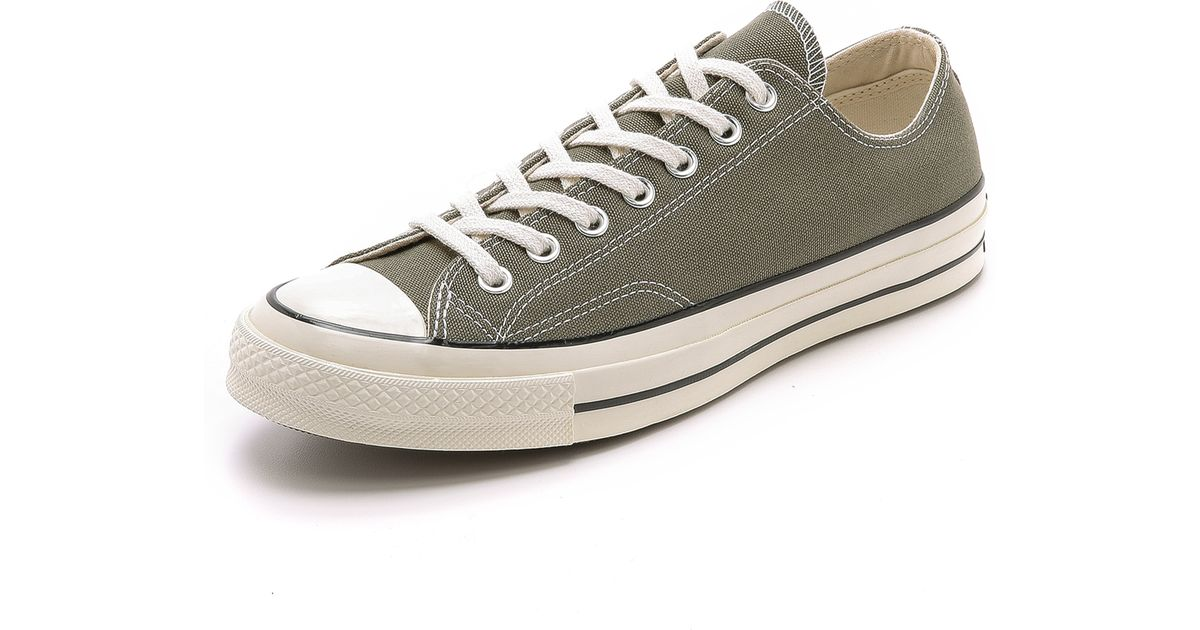 8216f3b2036656 ... cheap converse chuck taylor all star 70s canvas sneakers in green for men  lyst 92e09 34bf4