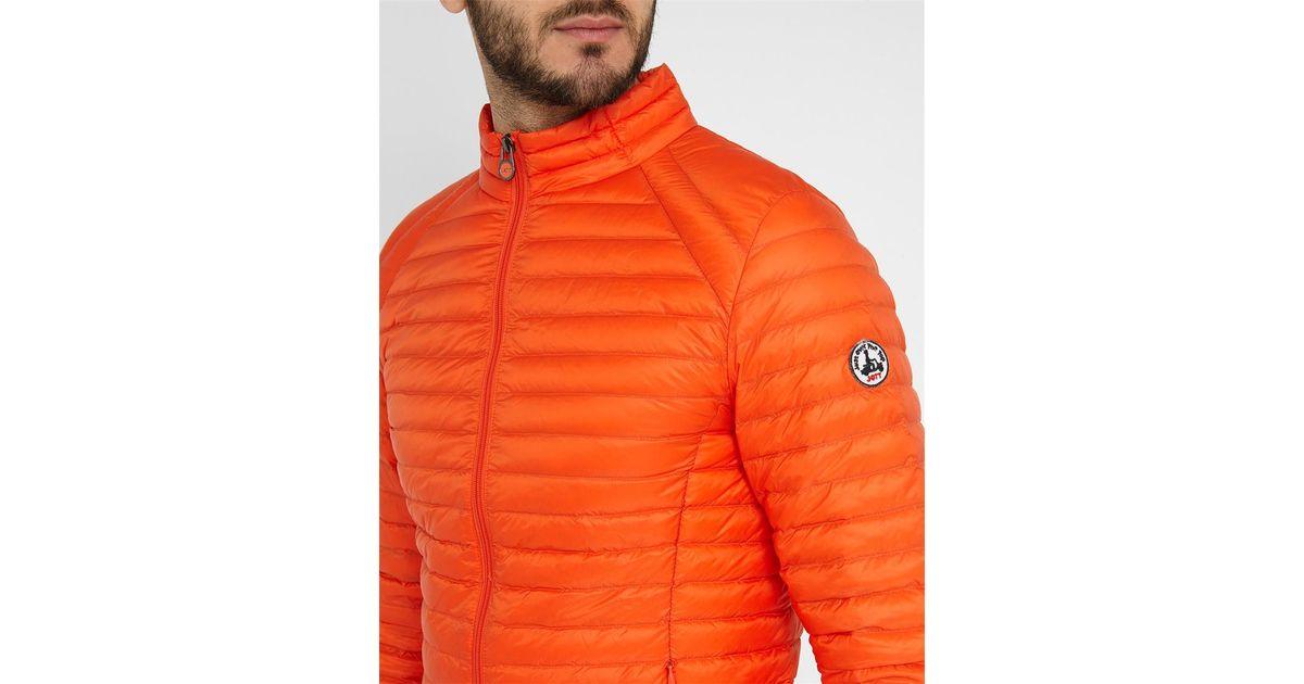 J.o.t.t Orange Dimitri Ultra Light Down Jacket in Orange ...
