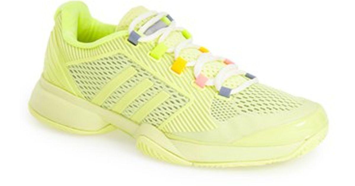77ad1234f08ce adidas 'stella Mccartney - Barricade 2015' Tennis Shoe in Yellow - Lyst
