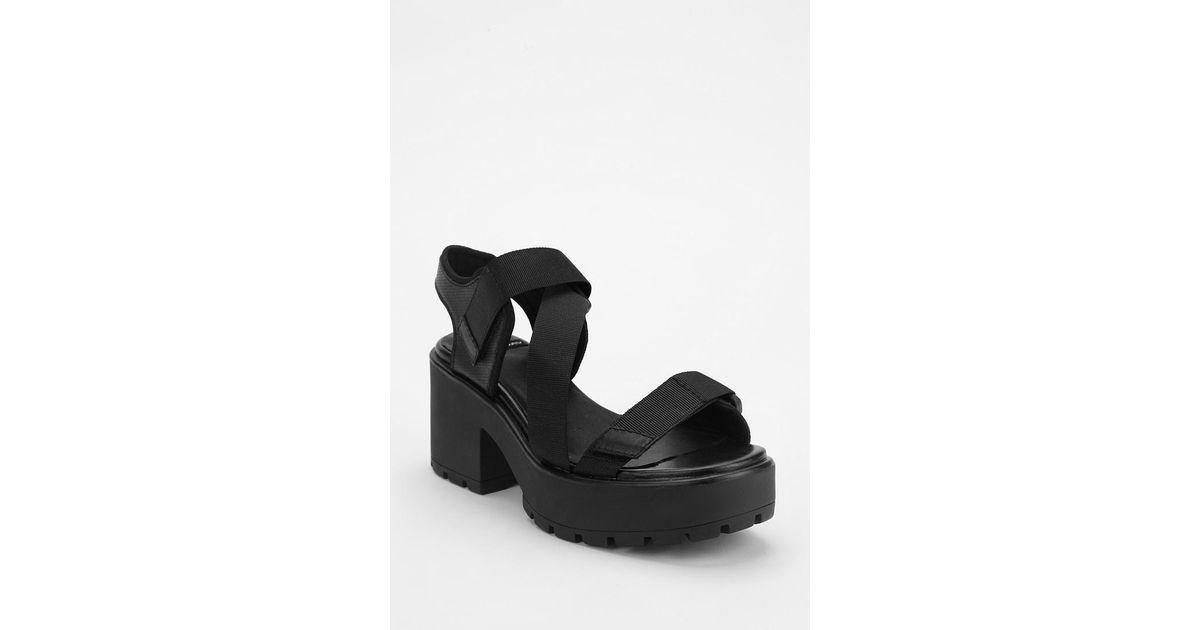 Black Platform Dioon Multi Vagabond Sandal Strap OPnwX0k8