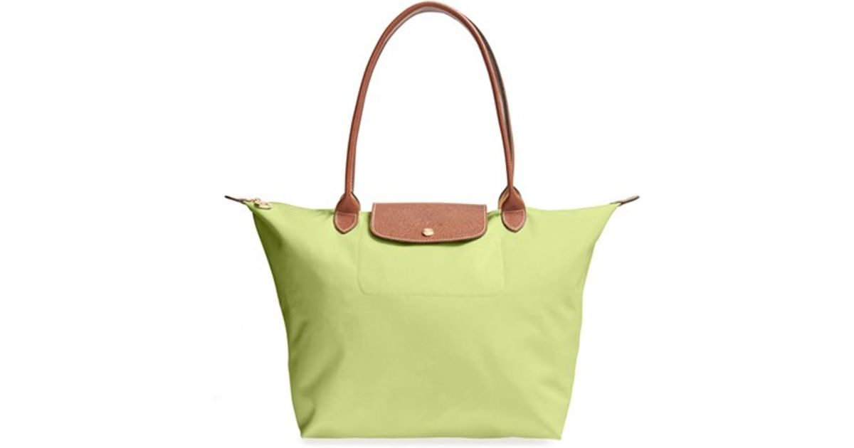 177d3c5024b7 Longchamp Yellow 'large Le Pliage' Tote