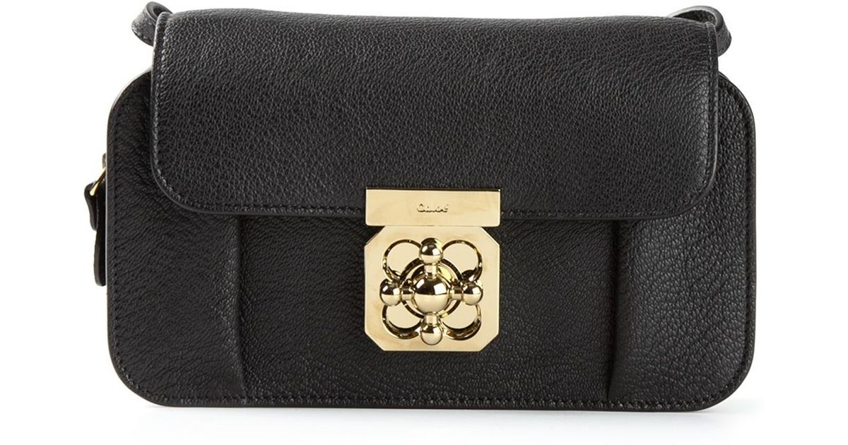 2139e091e Chloé 'Elsie' Cross Body Bag in Black - Lyst
