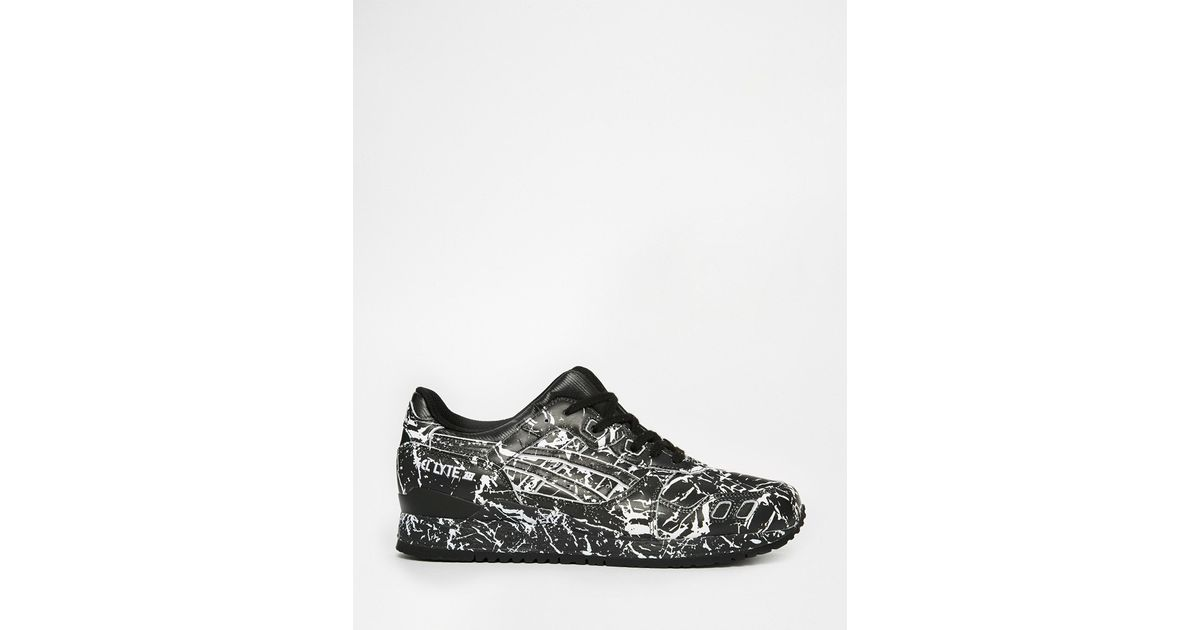 Lyst - Asics Gel-lyte Iii Marble Pack Trainers in Black for Men 12213454b1f7