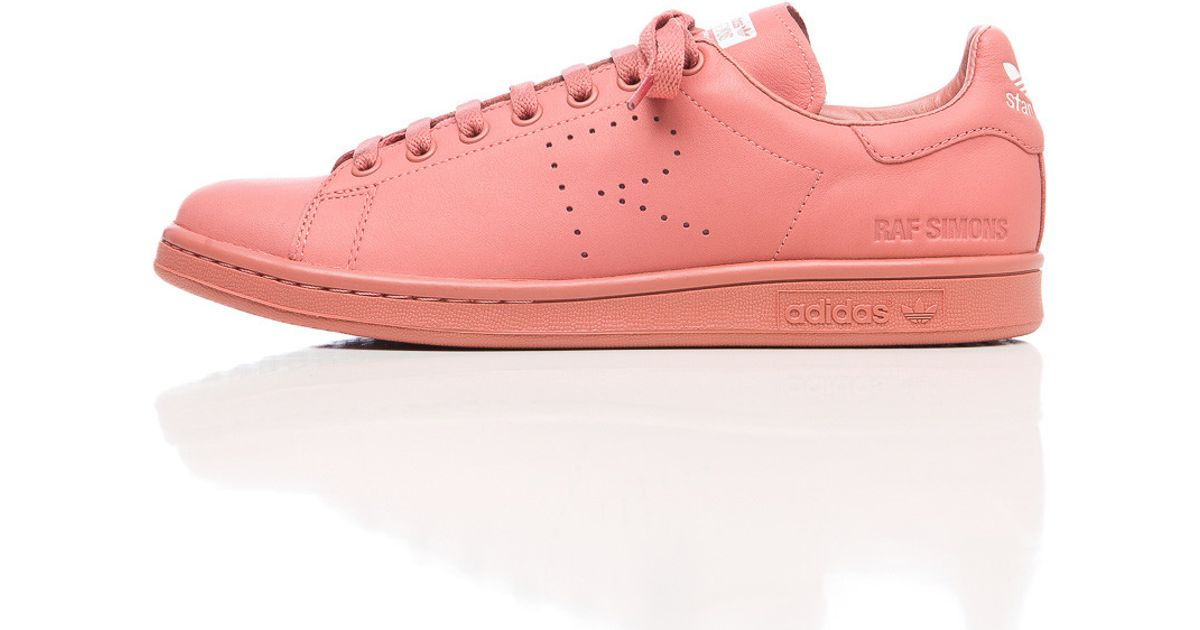 uk availability 582fd e8430 Lyst - adidas By Raf Simons X Raf Simons Stan Smith In Ash Pink in Gray for  Men