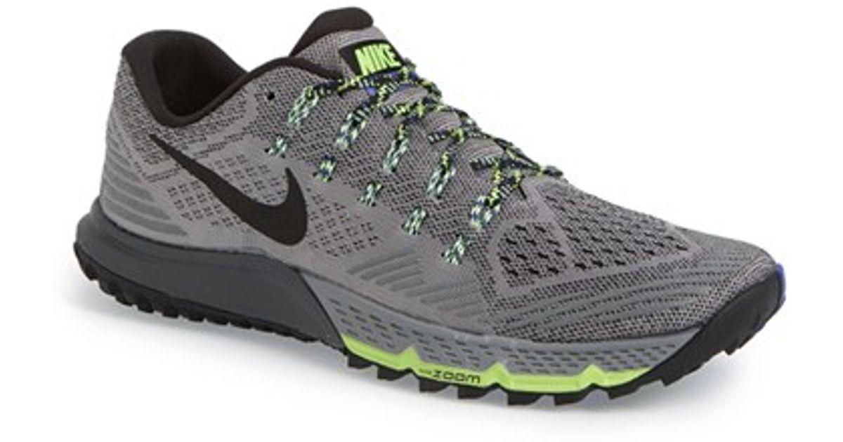 a6b8da661 Nike Gray 'Zoom Terra Kiger 3' Trail Running Shoe for men