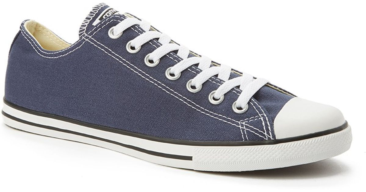d6070ad7963f Converse Chuck Taylor All Star Lean Plimsolls Grey in Blue for Men - Lyst